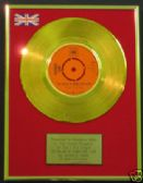 "GEORGIE FAME - Gold 7"" Disc - BALLAD OF BONNIE & CLYDE"